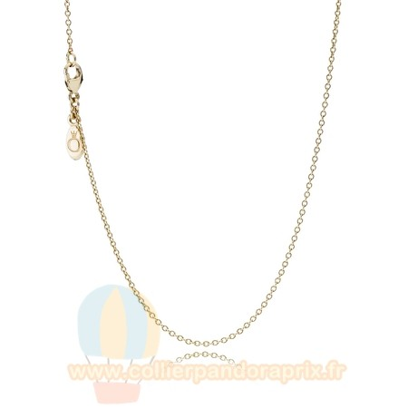 Populaire Pandora Pandora Collections Collier Chaine 14K Or