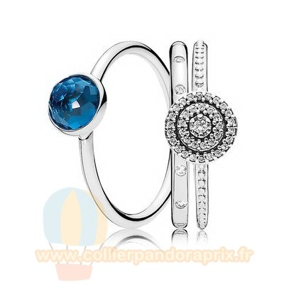 Populaire Pandora Decembre Droplets Bague Empiler
