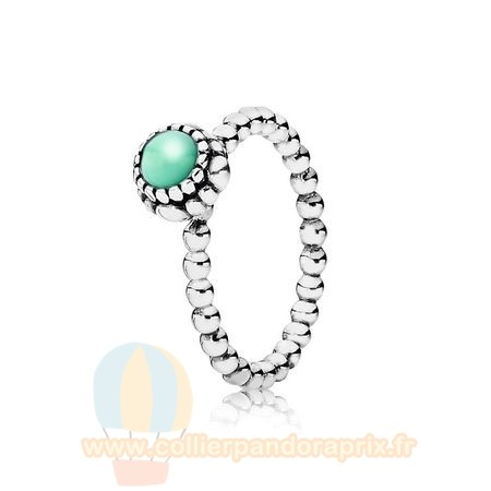 Populaire Pandora Bagues Anniversaire Blooms May Chrysoprase