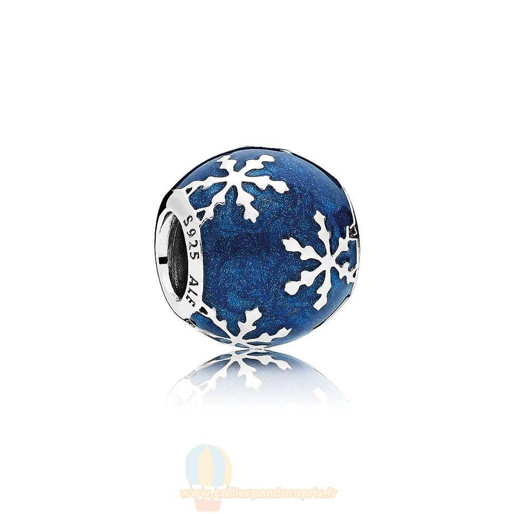 Populaire Pandora Nature Charms Charme Delice Midnight Blue Enamel