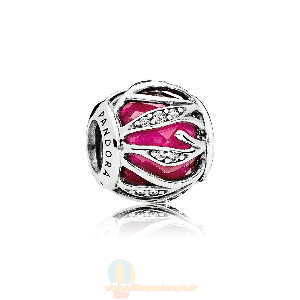Populaire Pandora Nature Charms Nature'S Radiance Synthetique Ruby Clear Cz