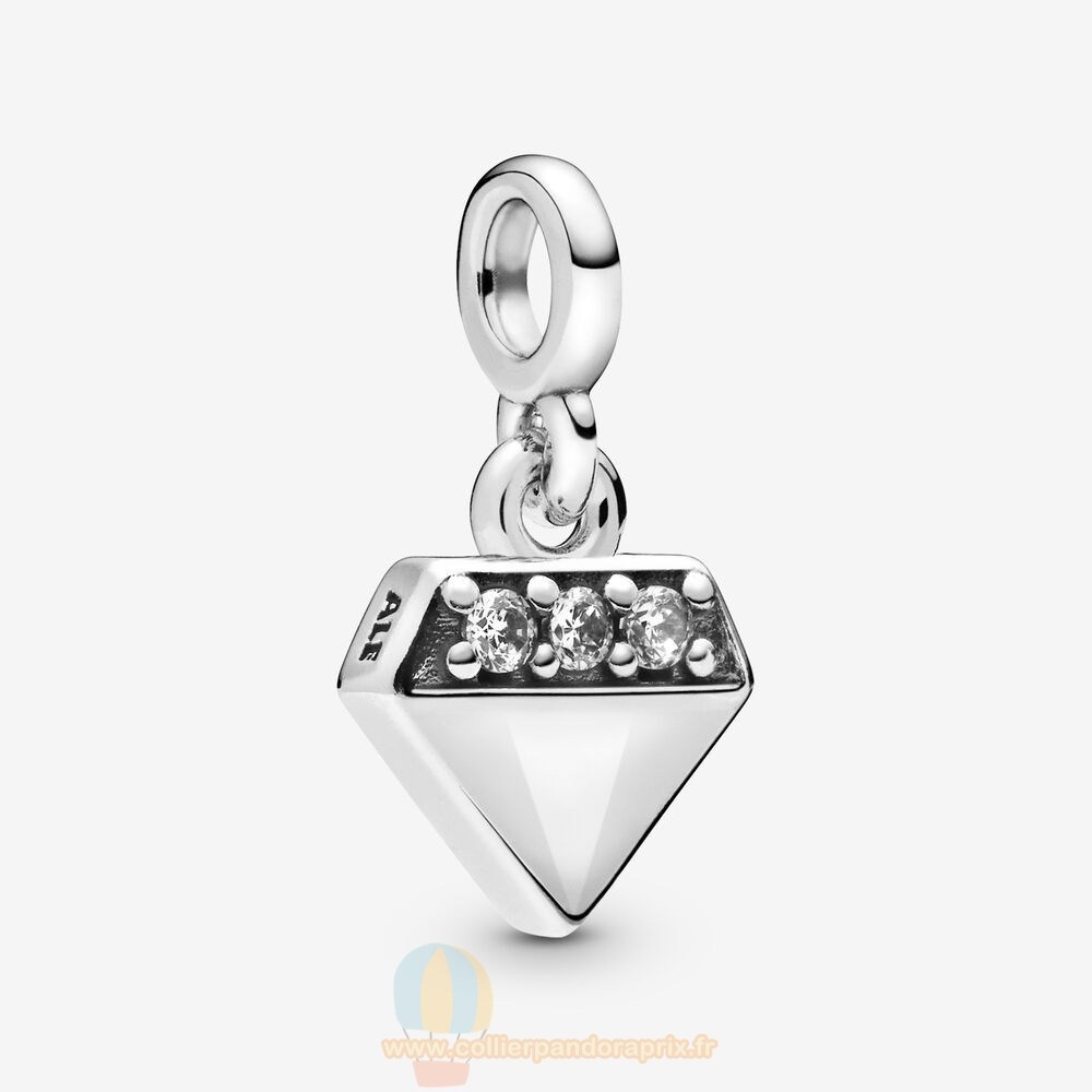 Populaire Pandora Mon Diamant Brillant Dangle Charme