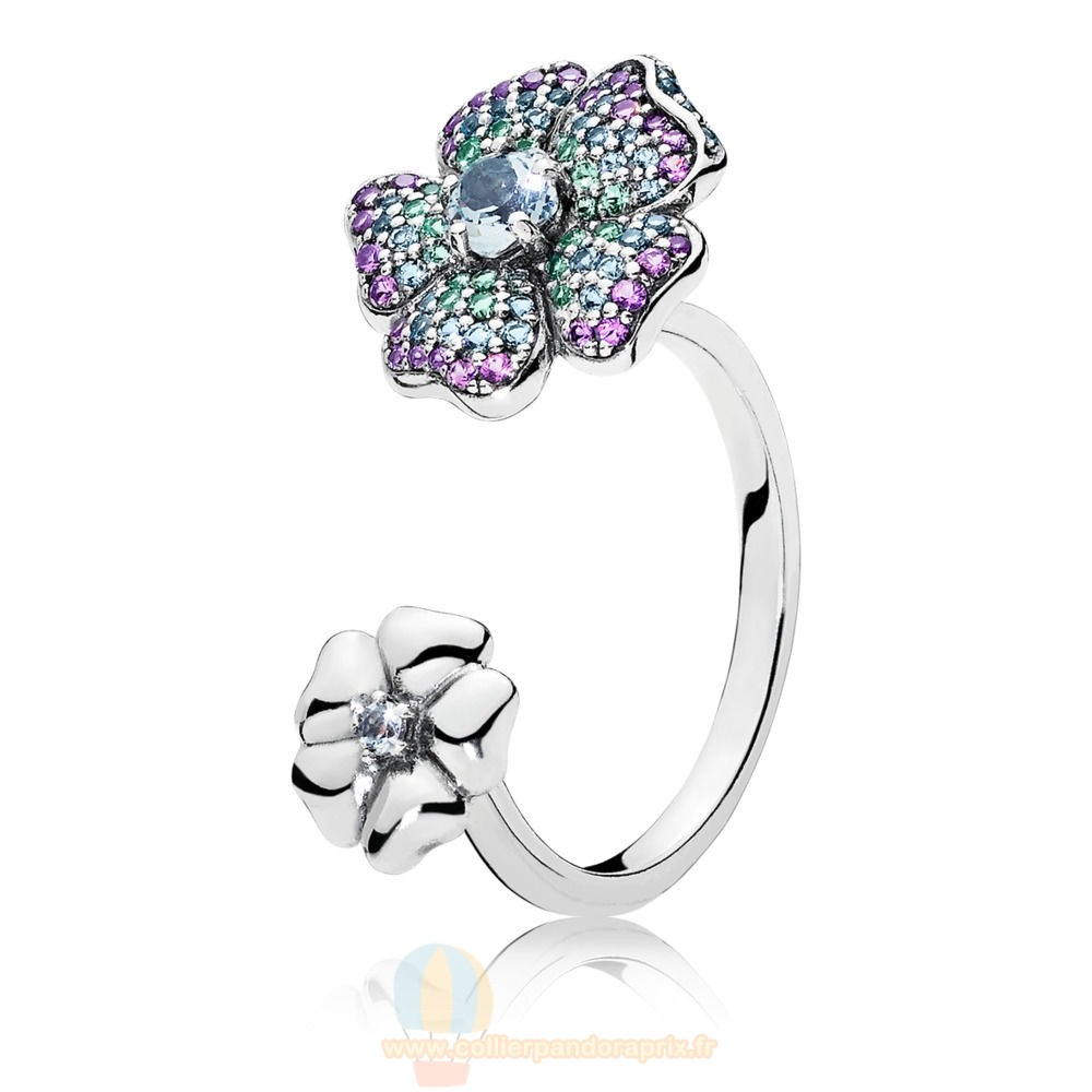 Populaire Pandora Glorious Blooms Bague