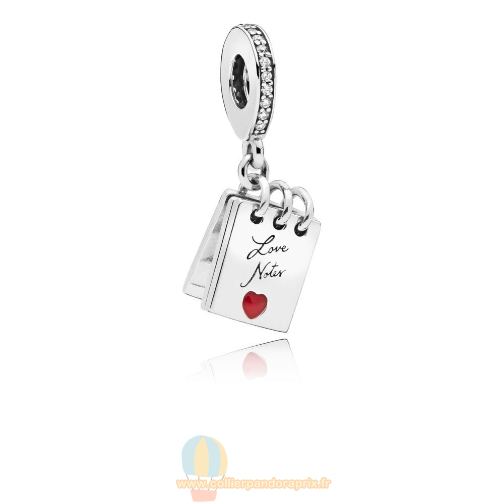 Populaire Pandora Charm Notes Suspendus